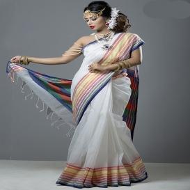 Tangail Silk & Cotton Saree 927