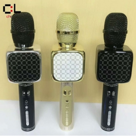 YS-69 mobile phone accessories karaoke microphone BT wireless usb recording microphone-351
