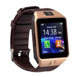 All-in-1 Watch Cell Phone and Smart Watch for Android IOS Samsung HTC and Other Android Smartphones Gold-3348