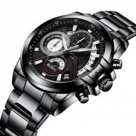 AllBlack Multifunctional Watch