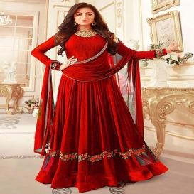 YOYO Fashion Designer Faux Georgette Festive Wear Anarkali Salwar Kameez -4014