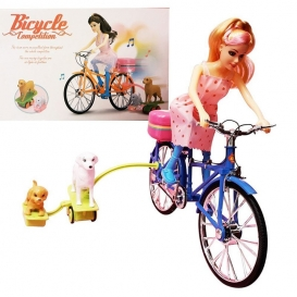 The girl on the bike toy-4071