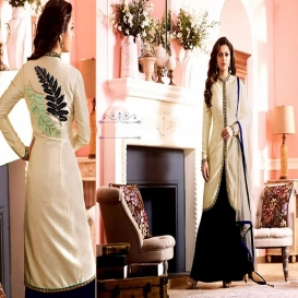 BEAUTIFUL STYLISH DESIGNER EMBROIDERED OCCASIONAL WEAR-4643