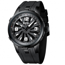 BIDEN men's watches sports watches for men waterproof silicone quartz watches for men and dial-up analog clock-3085