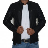 Artificial Leather Jacket-3545