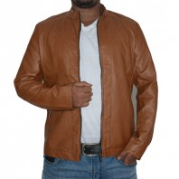 Artificial Leather Jacket-3546