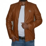 Artificial Leather Jacket -3548