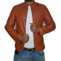 Artificial Leather Jacket -3554