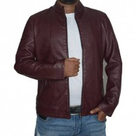 Artificial Leather Jacket -3556