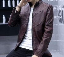 Artificial Leather Jacket -3562