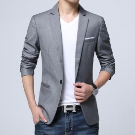 Artificial Leather Jacket -3558