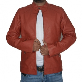 Artificial Leather Jacket-3550