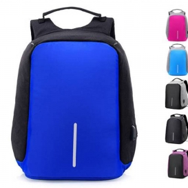 Bobby anty theft backpack-USB with charging port-bg232