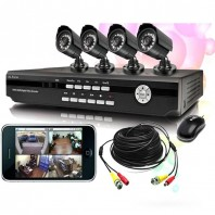 CCTV 4 camera fully setup -2079