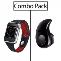 Combo of M3 Smart Watch and S530 Mini Bluetooth Earphone-3047