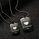 Couples Necklace forever-jw5023
