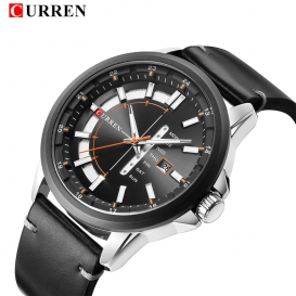 Curren Leather Belt Exclusive Watch 3050