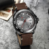 CURREN Leather Watch for Men-3036