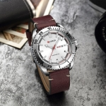 CURREN Leather Watch for Men -3039