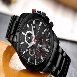 Curren top brand luxury Watch Men relogio masculino quartz watch fashion casual alloy wristwatches-3040