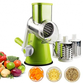 Hand Crank Stainless Steel Vegetable Slicer-2576
