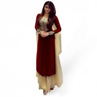Georgette Unstitched Salwar Kameez for Women-dr111