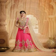 Classic Georgette Prachi Desai Wedding Lehenga-dr113