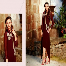 Exclusive Embroidery Kurti-4619