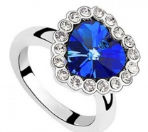 Exclusive Titanic Heart shape Ring-5035