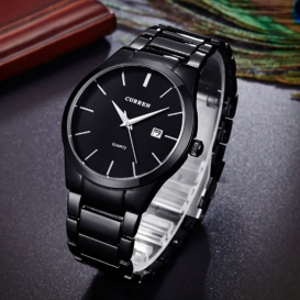 Titanium Black Analogue Wrist Watch For Men-3143