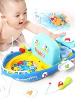 Sea Outing Fishing & Kitchen Ship 2in1 Fishing & Kitchen Childrens Toy-4060