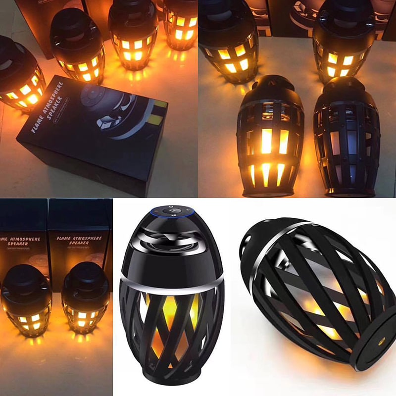 Flame Lamp Bluetooth Speaker