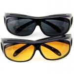 HD Day & Night Vision Wrap Around Glassess-2024