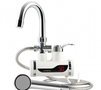 Hot water tap with shower-3563
