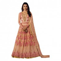 Indian Designer Collection Heavy Floral Anarkali Salwar Kameez suit Long Dress Party Wear -1911