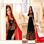 Indian Georgette Gown For Women-4651