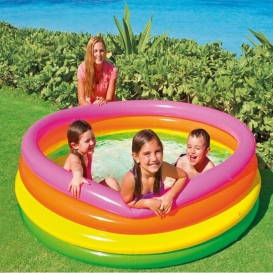 Intex baby Swimming Pool - Multi Colour-4086