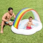 Intex Rainbow Cloud Inflatable Sunshade - Multicolour-4087