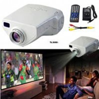 Kitchen House Multimedia LED Mini TV Projector With Remote Control - White116