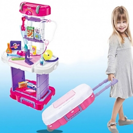 Little Doctor set for kids-3 in 1-4019