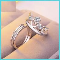 Love Promise Couple Finger Ring-jw5022