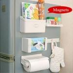 5 in 1 Magnetic Kitchen Organiser Rack -2554