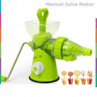 E-Budget Juice Wizard Manual Fruit Juicer - Green511