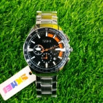 Men Stainless Steel Fashion Luminous Big Dial Watches For Men--3216