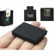 Mini A8 GPS Voice Tracking -Black-2089