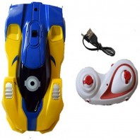 Minions Wall Climbing Car Remote Control Anti Gravity Ceiling Racing Car Electric Toys-4056