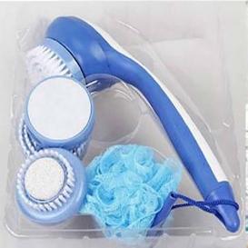 Spin Spa Body Brush in White 551
