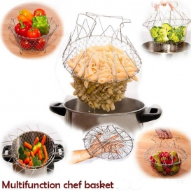 Stainless Steel Multifunction Chef Basket-2551