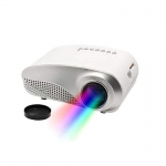 Multimedia HD LED Projector TV AV VGA HDMI SD Card Supported Remote Control White-2132
