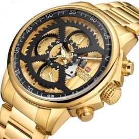 NAVIFORCE Watch Men Fashion Sport Quartz Clock Mens Watches Brand Luxury Full Steel Business Waterproof Watch Relogio Masculino-3283